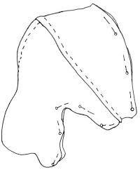 Image result for deer head sewing pattern