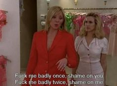 "On repeating past mistakes: | The 21 Best Things Samantha Jones Ever Said On ""Sex And The City"""