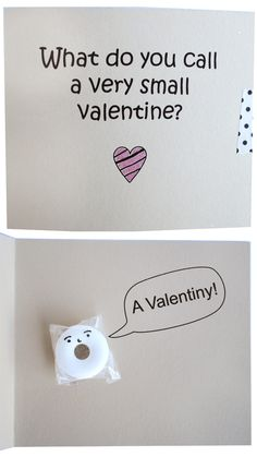 DIY Lifesaver Valentine Card