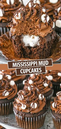 Chocolate Cupcakes Filled, Chocolate Easter Cake, Best Chocolate Desserts, Just Desserts, Delicious Desserts, Yummy Food, Chocolate Cupcake With Filling Recipe, Chocolate Frosting, Caramel Apple Cupcakes