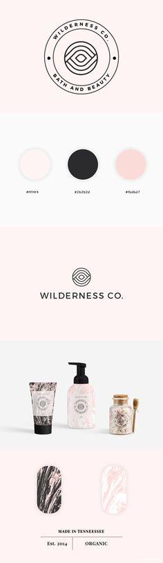 wilderness beauty branding by smuug