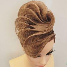 Resultado de imagen para peinados artisticos recogidos