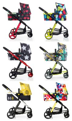 Cosatto pushchair strollers. all colours of the rainbow, brilliant http://babiesprams.net