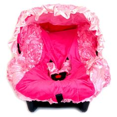 Pink Infant Car Seat Cover Baby Car Seat by CutieBabyBoutique, $49.99