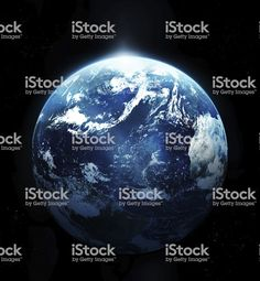 Planet earth with sun rising from space- Stock Foto, Planet Earth, Homecoming, Sun, Space, Inspiration, Planets, Earth, Magazine Articles