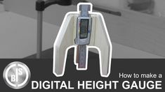I always wanted to make a Digital Height Gauge for my router table. I used a digital calliper to realize this project. I also used just scrap pieces of plywo.