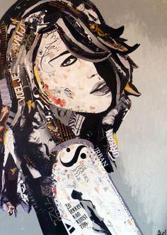 Nobody's wife Paper-art by Jorien Stel www.jorienstel.nl
