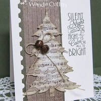 O Christmas Tree by cullenwr - Cards and Paper Crafts at Splitcoaststampers . Card making Homemade Christmas Cards, Christmas Cards To Make, Christmas Paper, Xmas Cards, Handmade Christmas, Homemade Cards, Holiday Cards, Christmas Crafts, Diy Cards