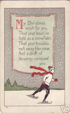 Merry Christmas quotes and wishes can brighten your loved ones. Always appreciate and feel gratitude towards this special holiday and share the wisdom. Feel free to select the best Merry Christmas Wishes and Quotes. Christmas Verses, Noel Christmas, Vintage Christmas Cards, Christmas Images, Christmas Greetings, Vintage Cards, Winter Christmas, Christmas Crafts, Country Christmas