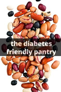 Cat Nutrition Guide Top 10 Foods for a Diabetes Friendly Pantry - A diabetes friendly grocery list will help you choose pantry items you need to have on hand to get delicious and nutritious meals prepared quickly. Diabetic Snacks, Diabetic Recipes, Pre Diabetic, Diabetic Bread, Healthy Snacks, Diabetic Grocery List, Healthy Eating, Healthy Carbs, Diabetic Breakfast