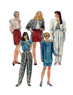 McCalls 5467 Womens Parachute Pants Button by FindCraftyPatterns, $10.00