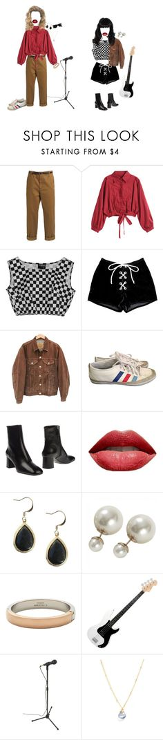 """""""and she said...!"""" by breakfastinohio ❤ liked on Polyvore featuring Golden Goose, Levi's, adidas, Prada, Vita Fede, Lotus Jewelry Studio and Ray-Ban"""