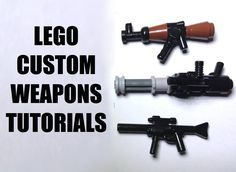 In this video i will be showing you how to make 3 custom lego weapons: a mini gun, an AK47 and an M4 A1 i haven't looked online for any inspiration on my des...