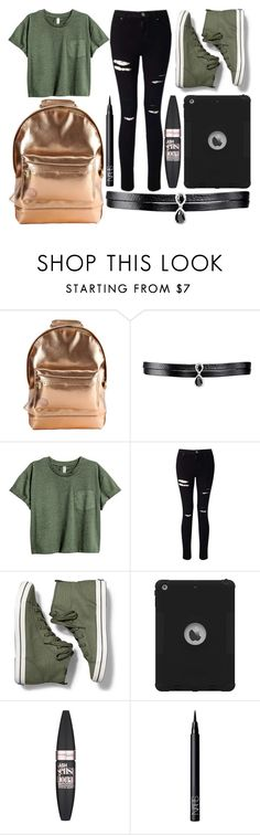 """""""School Day"""" by susanna-trad ❤ liked on Polyvore featuring Mi-Pac, Fallon, Miss Selfridge, Keds, Maybelline and NARS Cosmetics"""