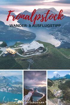 Ausflugstipp für die Schweiz: Wanderung auf dem wunderschönen Fronalpstock im Kanton Schwyz in Morschach, über den Dächern des Vierwaldstättersees. #schweiz #inlovewithswitzerland #wandern #alpen #ausflugstipp Visit Switzerland, Reisen In Europa, Grand Tour, Hiking Trails, Day Trips, Places To See, Tourism, Things To Do, Camper