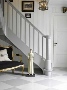 Mal den gamle trappen, den blir som ny for – Happy Homes Norge Entry Stairs, Interior, House, Inspiration, Design, Home Decor, Discovery, Colors, Google