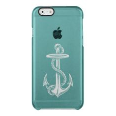 Vintage Anchor Clear iPhone 6/6S Case