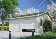 Garage-15 Garage Doors, Outdoor Decor, Home Decor, Decoration Home, Room Decor, Home Interior Design, Carriage Doors, Home Decoration, Interior Design