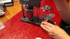 Máquina Chapas Publicitarias con moldes intercambiables, www.chapea.com