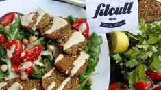 Obľúbené jedlo z cíceru upravené na fitness verziu, takže falafel sa nevysmáža, ale pečie.
