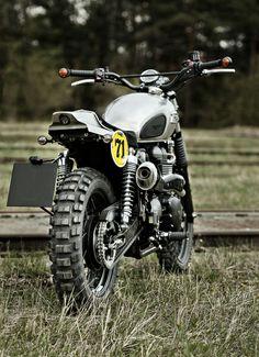 "Racing Cafè: Triumph Scrambler 900 ""Chromex"" by Rock'n'Ride"