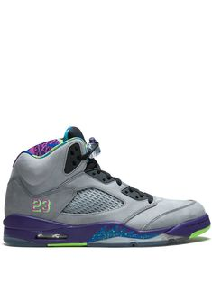 new arrivals c23b0 d5544 JORDAN JORDAN AIR JORDAN 5 RETRO BEL AIR SNEAKERS - GREY.  jordan  shoes
