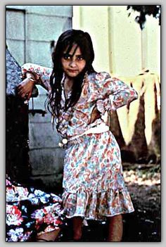 Rana Halprin (A Romani girl. I imagine Nico and Bianca to be of Romanian descent and this is what little Bianca looked like.)