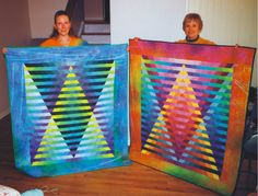 Illusion Baby Quilts © 1999, Quilt Art Record by Caryl Bryer Fallert