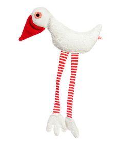Red Sam Duck Plush Toy by Esthex #zulily #zulilyfinds