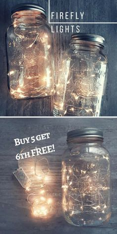 Firefly Lights! Light up your backyard with these firefly lights! They're perfect for the back deck or patio or around the fire pit! Add a bit of magic to your backyard wedding or party! - backyard decor - patio decor - outdoor lights - deck - Wedding Ideas on a Budget, DIY Table Centerpiece Lights, Rustic wedding, Fall Wedding, Backyard Wedding Lighting, Firefly Lights - backyard lighting, sponsored