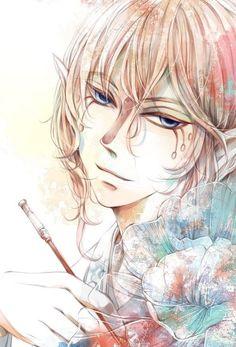 Anime Chibi, Anime Art, Mononoke Anime, Monster Boy, Horror Tale, Sad Anime Quotes, Cartoon Painting, Ghibli Movies, Anime People