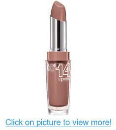Maybelline New York Superstay 14 hour Lipstick, Never Ending Nude, 0.12 Ounce