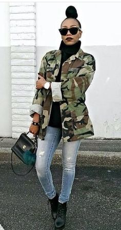 40 Best Winter Fashion Ideas For African Americans - Made For Black Source by cocoaserenity winter outfits african american Braids african american Winter Mode Outfits, Winter Outfits Women, Casual Winter Outfits, Winter Fashion Outfits, Chic Outfits, Fall Outfits, 90s Fashion, Fall Fashion, Army Jacket Outfits