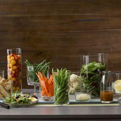 Farmhouse Salad Bar - great decorating and salad bar at your fingertips