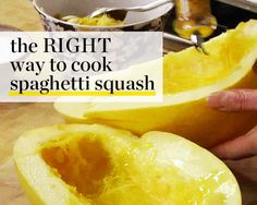 The RIGHT Way to Cook Spaghetti Squash