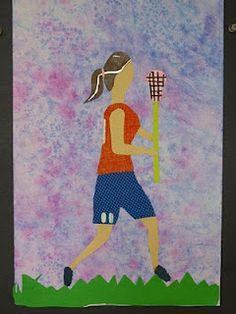 "The Calvert Canvas: Adventures in Middle School Art!: ""Rondo"" Collages after Miriam Schapiro"