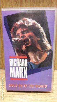 RICHARD MARX. HOLD ON TO THE NIGHTS. VHS - GRABADO EN CALIFORNIA / BUENA CALIDAD.