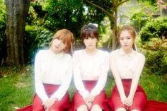 Hayoung, Chorong, and Naeun
