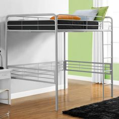 Found it at Wayfair - Full Metal Loft Bed with Built-In Ladder http://www.wayfair.com/daily-sales/p/Colorful-Kids%E2%80%99-Bedroom-Full-Metal-Loft-Bed-with-Built-In-Ladder~DRL1059~E17639.html?refid=SBP.rBAZEVTiN9wlSngJNSqcAp8zm5Ywh0pWlP7ayz00tT4