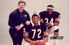 Mike Ditka,William Perry,Walter Payton