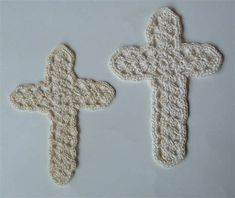 Image result for Free Crochet Cross Bookmark Pattern