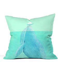 Loving this Eric Fan Lift Throw Pillow on #zulily! #zulilyfinds