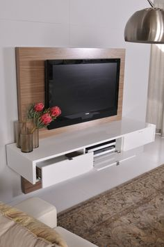 Trendy living room shelves under tv ikea hacks ideas Living Room Shelves, Living Room Storage, Living Room Grey, Living Room Kitchen, Living Room Decor, Wall Shelves, Wall Storage, Bedroom Storage, Grey Shelves