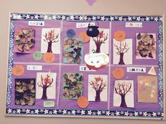 Creative bulletin board in infant program