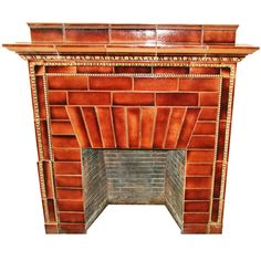1stdibs.com | Ceramic Mantel from the Iver Johnson Building, Fitchburg, MA