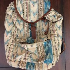 Target Aztec Backpack Great condition. Used once. Bags Backpacks