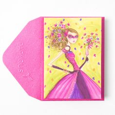 Bella Pilar Party Girl Gift Enclosure Price $2.95