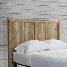 Loon Peak Sunlight Spire Full Wood Headboard & Reviews | Wayfair