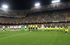 @valenciaoficial el conjunto 'ché' en Mestalla #9ine