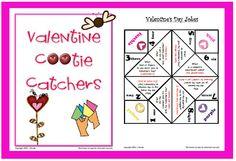 V-day Cootie Catchers